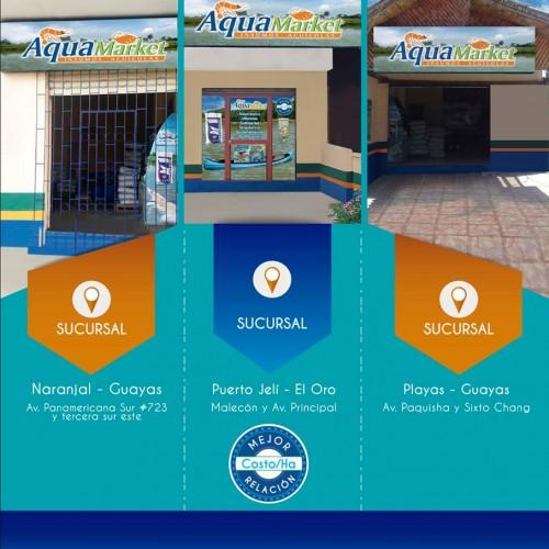Sucursales Aquamarket siempre cerca de ti